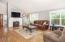 2207 NE 28th St, Lincoln City, OR 97367 - Spacious living room