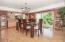 421 E Burnt Limb Lane, Tidewater, OR 97390 - Dining Area - View 2 (1280x850)