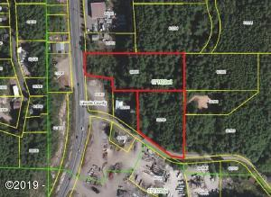 2240 SE Hwy 101/1423 Se 23rd Drive, Lincoln City, OR 97367 - Aerial Mapped Combined