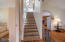 429 Hidden Valley Rd, Toledo, OR 97391-9522 - STAIRCASE LEADING TO LOFT AREA