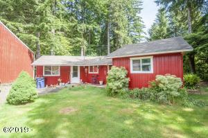 1615 N Bear Creek Rd, Otis, OR 97368 - Cabin