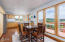 960 NW Estate Dr, Seal Rock, OR 97376 - Dining area to Kitchen