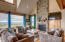 325 Salishan Dr, Gleneden Beach, OR 97388 - Living room Fireplace