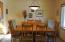 204 Bain Dr E, Tidewater, OR 97390 - Dining Room