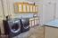943 SW Waziyata Ave, Waldport, OR 97394 - Laundry Room w/Storage & Counters