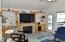 943 SW Waziyata Ave, Waldport, OR 97394 - Family Room w/Fireplace & Wet Bar
