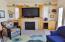 943 SW Waziyata Ave, Waldport, OR 97394 - Family Room Built ins w/Fireplace