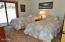 470 Yachats Ocean Rd, Yachats, OR 97498 - Bed Room w/Slider to Yard