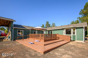 26818 Fudge Rd, Alsea, OR 97324 - BACK DECK
