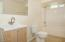 495 SW 37th Pl., Lincoln City, OR 97367 - Garden Level Full Bathroom