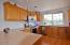 619 SW Fleet Ave, Lincoln City, OR 97367 - Kitchen with mountain view