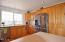 619 SW Fleet Ave, Lincoln City, OR 97367 - Kitchen with Stainless steel frig