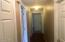 6562 SW Fleet Ave, Lincoln City, OR 97367 - Hallway to 3 bedrooms