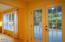 3201 NW Oceania Dr, Waldport, OR 97394 - Backyard doors