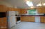335 SE Winchell St, Depoe Bay, OR 97341 - Kitchen with sklite