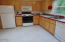 335 SE Winchell St, Depoe Bay, OR 97341 - Kitchen with all appliances