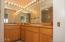 5845 El Mar Ave, Gleneden Beach, OR 97388 - Master Bath Mirror Image