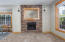 2036 NW 33rd St, Lincoln City, OR 97367 - Stacked stone fireplace