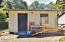 12801 SE Chittum Dr., South Beach, OR 97366 - Garden/Storage Shed