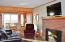 3818 SW Pacific Coast Hwy, 4, Waldport, OR 97394 - Living Room w/Fireplace