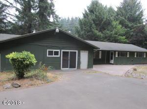 7985 NE Park Ln, Otis, OR 97368 - Front of house