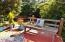 5623 SW Neal Ave, Waldport, OR 97394 - Deck w/Wooded View