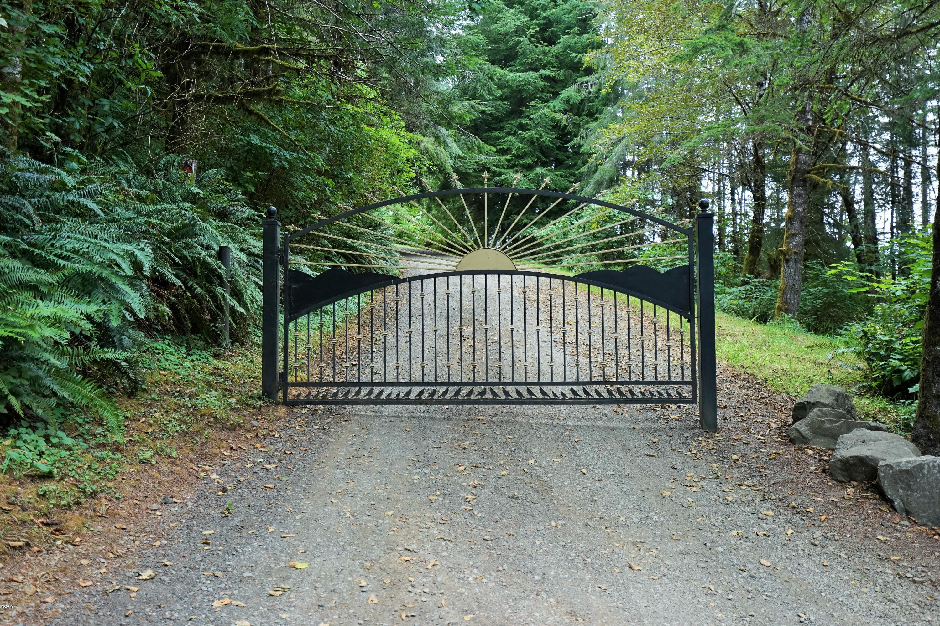 21430 Siletz Hwy, Siletz, OR 97380 - Front Gated Entry