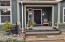 286 NE Evergreen Ln, Yachats, OR 97498 - Covered Entry