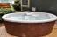 286 NE Evergreen Ln, Yachats, OR 97498 - Hot Tub on back deck