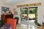 286 NE Evergreen Ln, Yachats, OR 97498 - Dining Slider to Porch