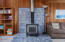 2941 NW Port Ave, Lincoln City, OR 97367 - Wood Stove