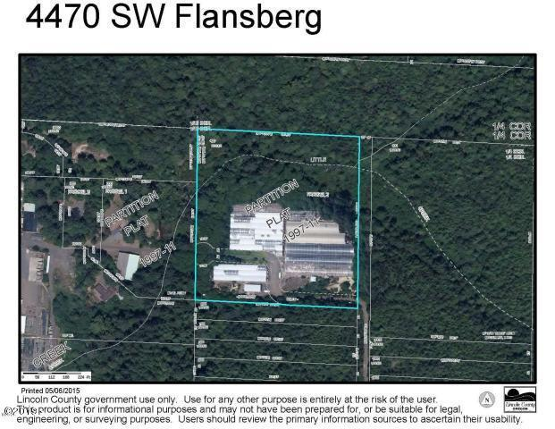 4470 SW Flansberg Ave, Waldport, OR 97394 - Large Acreage with Home