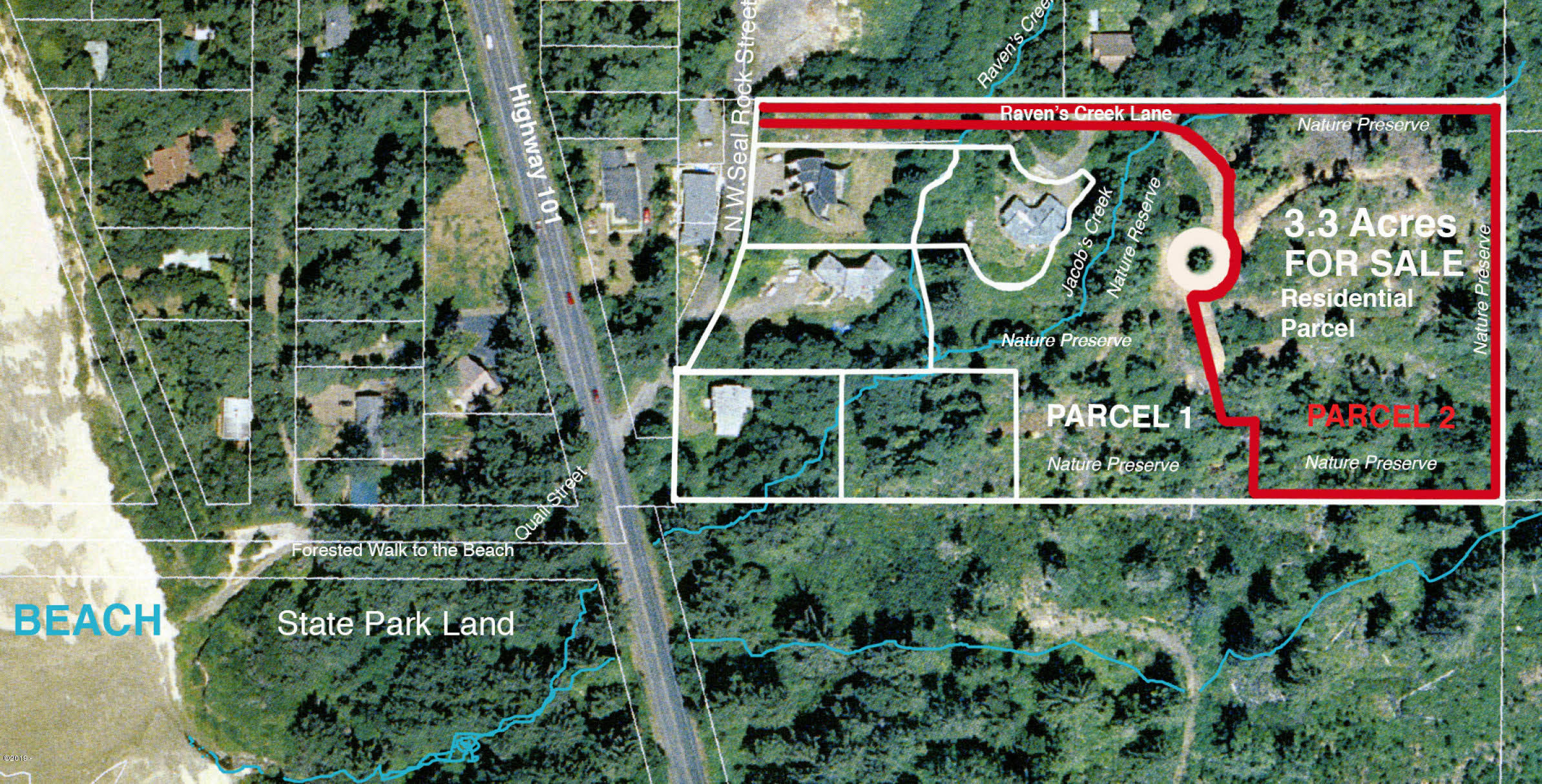 TL 1200 Ravens Creek Lane, Seal Rock, OR 97396 - Overhead