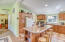 98 N Yodel Ln, Otis, OR 97368 - Island counter with seating