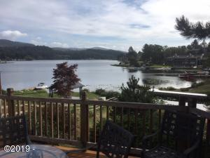 3600 NE West Devils Lake Rd, Lincoln City, OR 97367 - Spectacular View of the Lake