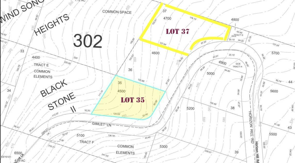 4500&4700 Horizon Hill Lots 35 & 37, Yachats, OR 97498 - MAP lots 35 & 37