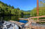 76 E Alsea Riviera Dr, Tidewater, OR 97390 - Residents' boat ramp