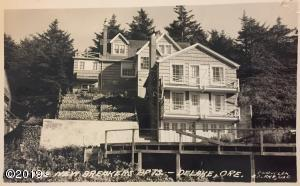 """New Breaker Apartments"" Historical Postcard."