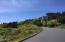 LOT16 Spring Ave, Depoe Bay, OR 97341 - Lookimg up the street from lot