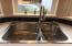 3943 Summit Ridge Cir, Depoe Bay, OR 97341 - New Stainless Sink