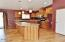 353 E Darkey Creek Rd, Waldport, OR 97394 - Kitchen from Great Room