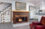 315 SW Ebb Ave, Lincoln City, OR 97367 - Fireplace