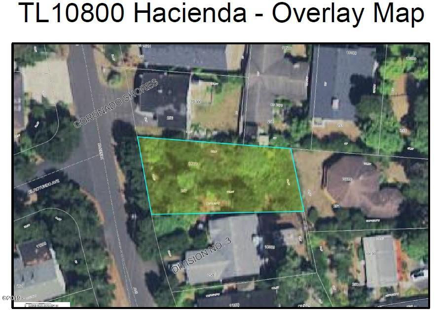 TL 10800 Hacienda Ave, Lincoln City, OR 97367 - Overlay Map