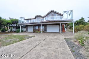 3501 NW Oceania Dr, Waldport, OR 97394 - Front of house