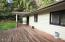 560 N Deerlane Dr, Otis, OR 97368 - Rear of House with Deck