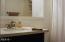 1097 NW Fox Creek Dr, Seal Rock, OR 97376 - hall bathroom