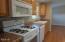 744 SE Winchell Dr, Depoe Bay, OR 97341 - Gas range at kitchen