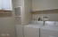 744 SE Winchell Dr, Depoe Bay, OR 97341 - Laundry with additional cabinets