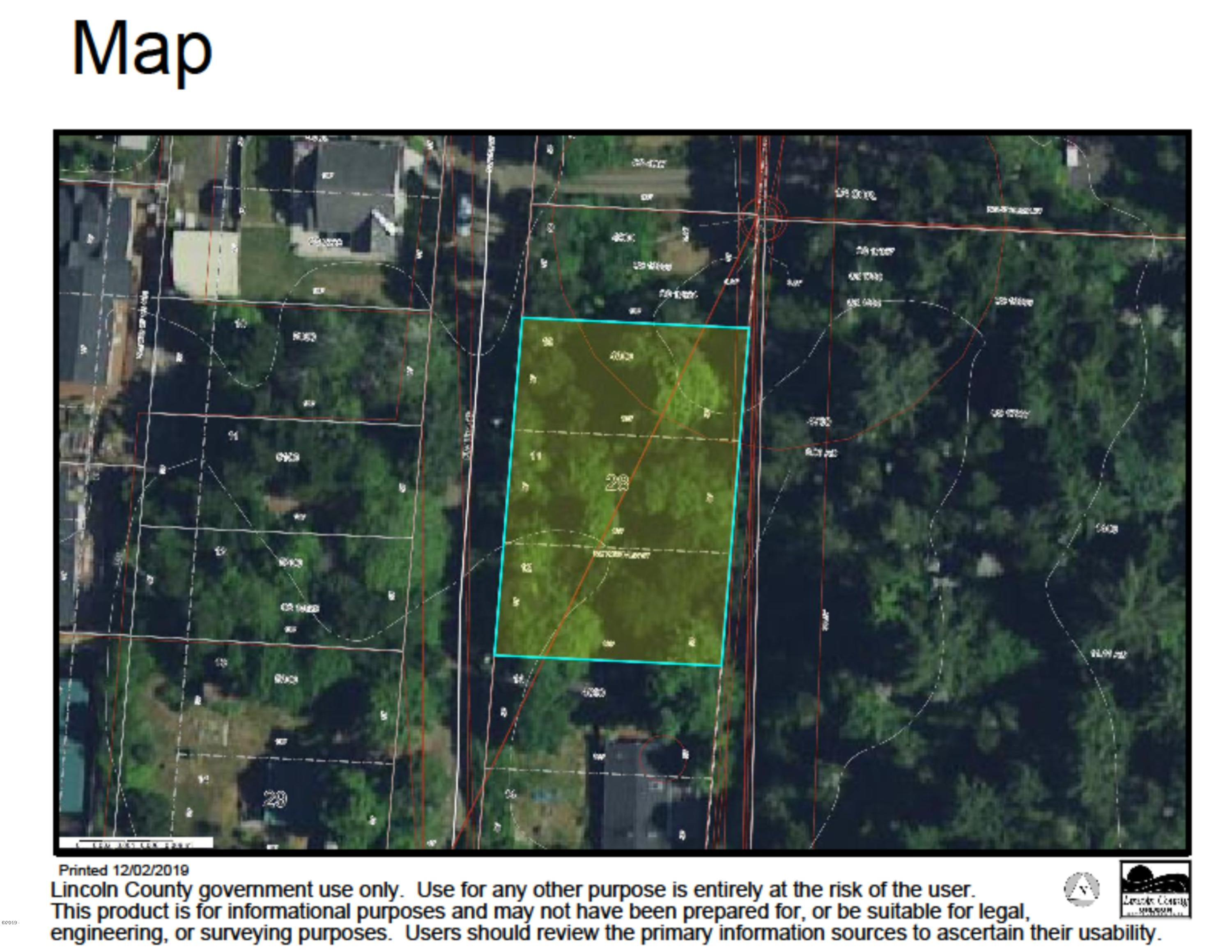 TL 4800 Line Street, Seal Rock, OR 97376 - Aerial Map