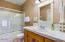 2772 SW Barnacle Ave, Lincoln City, OR 97367 - Upper Floor Main Bathroom